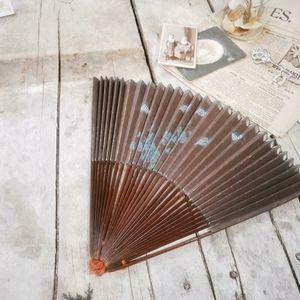 Antique Victorian 1800s beautiful ladies fan.